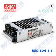 RSD-30G-3.3 30W 9~36V输入 3.3V 6A 输出铁道专用明纬DC-DC转换电源