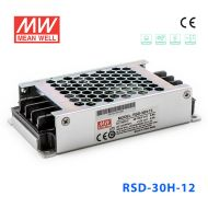 RSD-30H-12 30W 40~160V输入 12V 2.5A 输出铁道专用明纬DC-DC转换电源